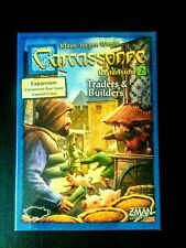 Carcassonne Expansion 2 - Traders & Builders, Board Game, Z-Man Games BRAND NEW