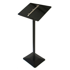 Lectern Stand / Menu Stand / Catalogue Browser Floor Stand / Brochure Stand