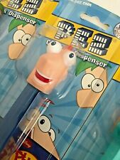 PEZ Phineas Flynn from PHINEAS AND FERB Candy Dispensers MOC **FREE SHIPPING**