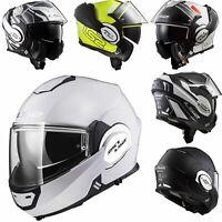 LS2 FF399 Valiant DVS Modular Convertible Flip Over Flip Front Motorcycle Helmet