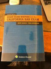 Essay Exam Writing for the California Bar Exam, Paperback by Basick, Mary; Sc...