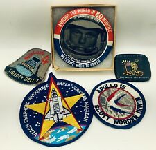 NASA Apollo Space Program Shuttle Orbit Astronauts Liberty Bell  Pins & Patches