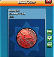 Beta Exclusive Red Arceus TRADABLE Coin Pokemon TCG Online (Digital Coin) PTCGO