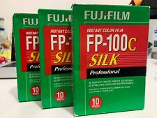 Fuji Fp-100c Silk Prof. Instant Color 3 Packs. Exp.2017-08.stored in Fridge.