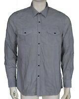 Kenneth Cole New York Patterned Cotton Shirt Men's Size XL