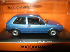 1:43 Maxichamps VW Golf II GTI 1985 blau/blue Nr. 940054120 in OVP