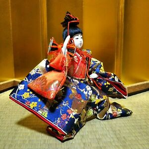 Japanese Samurai Warrior doll boys Plush Figure Emperor dolls Hina dolls Japan