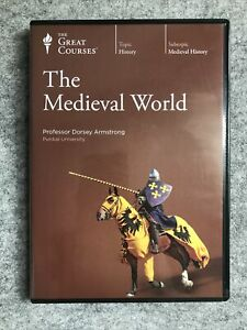 The Great Courses : The Medieval World (2009, 6-DVD, No Book)