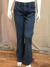 ROXY, Flare, Stretch, Blue Denim, Jeans, Women's Size 5, Mid-Rise