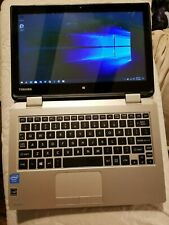Toshiba Satellite l15w, 2 in 1, Intel 2.1GHz, 4GB, 240SSD, 5g wifi Classroom set