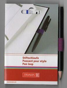 Stiftschlaufe, Pen loop, Schlaufenfarbe: PURPLE (60)