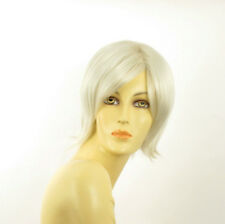 short wig for women smooth white ref: MARINA 60 PERUK