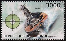 IJN YAMATO (Jamato) WWII Imperial Japanese Navy Battleship Warship Ship Stamp