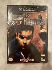 DEAD TO RIGHTS (Nintendo GameCube, 2002) NEW FACTORY SEALED MINT/GRADEABLE/RARE