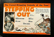 STEPPING OUT 1931 MOVIE HERALD - CHARLOTTE GREENWOOD, LEILA HYAMS