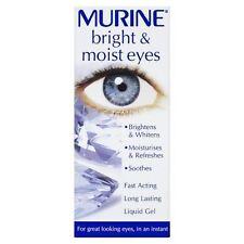 Murine Bright & Moist Eyes Brightens Whitnes Soothes Ligid Gel 15ml