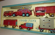 Corgi Major Chipperfields Circus Gift Set 23 - 6 Models with Lions & Bears VGC