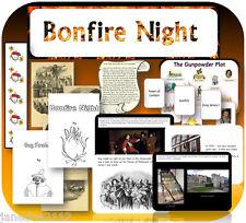 KS1 KS2 GUY FAWKES GUNPOWDER PLOT BONFIRE NIGHT Teaching resources & activities