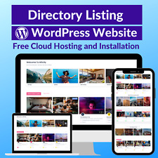Directory Listing Business Affiliate Store Website Free Installation Hosting