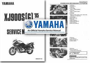 Yamaha Xj Yamaha Motorcycle Workshop Manuals For Sale Ebay