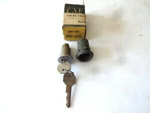 NOS 1958 CHEVY BEL AIR DELRAY STATION WAGON FRONT DOOR LOCK CASE CYLINDER