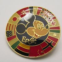 Disney Epcot Mickey with Circle of Country Flags 2000 Pin