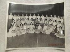 Vtg. Photo Girls Patrol 1958-59 Centennial School Evansville IN 8X10 With Names