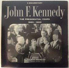 JOHN F KENNEDY - A DOCUMENTARY RECORD ALBUM - THE PRESIDENTIAL YEARS - LISTEN!