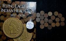 1857-1909 INDIAN HEAD Cent STARTER COLLECTION**20 Coins++ALBUM++no duplicates