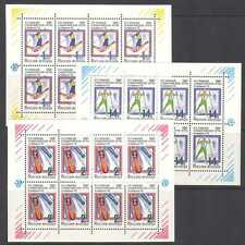 Rusia 1992 Juegos Olímpicos de Invierno/Esquí/Sport 3 X M/S n21179