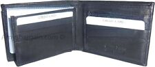 Man's 2-in-1 Leather Wallet, 9 Card Spaces, 2 ID windows, 3 bilfold wallet BNWT