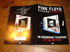 PINK FLOYD ECHOES 4 PAGES !!!!!!!!RARE FRENCH PRESS/KIT