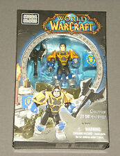 MEGA BLOKS World of Warcraft WOW Set 91001 Colton Figure Human Paladin NEW