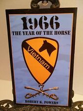 Vietnam War Army 1st Air Cavalry Division 1966 Year of the Horse Thayer Pershing