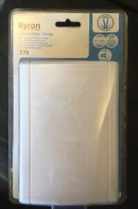 Byron Wired Door Chime Bell 779 New In Packaging