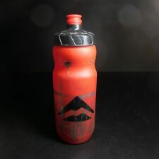 Bidon bouteille rouge noir MERIDA BPA FREE sport cyclisme collecte vintage N6378