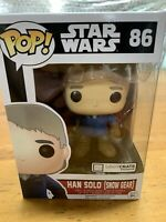 Funko Pop! Star Wars - Han Solo [Snow Gear] (Loot Crate Exclusive) #86  VAULTED