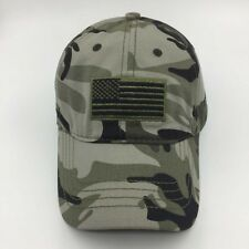 US Flag Military Army Camouflage Unisex Men Women Baseball Cap Dad Hats