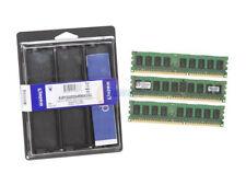 Kingston memory 6Gb PC3 10600 REG CL9 KIT 3x2Go DDR3 ECC   KVR1333D3S4R9SK3/6G