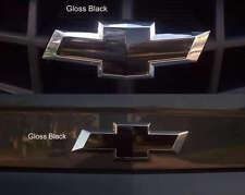 "2- 5""x10"" Gloss Black vehicle graphic film sheets. Universal Vinyl Bowtie Wraps"