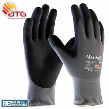 5X ATG MaxiFlex Ultimate Breathable Nitrile Work Glove Size 9L 42-874