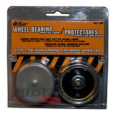 Bully Wheel Trailer Bearing Cover Protector 1 98 US Seller Sold in Pair