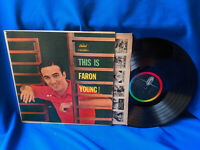 Faron Young LP This is Faron Young! Capitol T1096 Rare 1959
