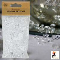 Table Scatter Crystals Confetti Wedding Gems Diamonds Party Craft Decorations