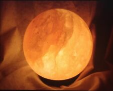 Himalayan Salt Sphere Lamp Air Purifier & Ionizer Reiki Chakra Decor Lighting.