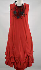 LAGENLOOK DESIGNER 'SHE'  PARACHUTE DRESS  DRESS  SIZE XL/XXL RED
