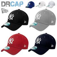 NEW ERA 9FORTY CURVED PEAK NEW YORK NY YANKEES ADJUSTABLE BASEBALL CAPS 55-61cm