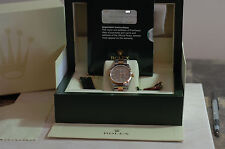 Rolex 15203 Oyster Perpetual Date Steel /18K Yellow Gold Box/Papers Ex Condition