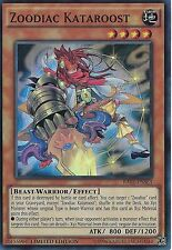 3X Zoodiac Kataroost RATE-ENSE3-NM-Yugioh Raging Tempest Special SE Promo Foil