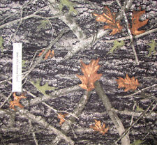 Camouflage True Timber Real Conceal Camo Hunt Camp FLEECE Fabric Polyester Yard